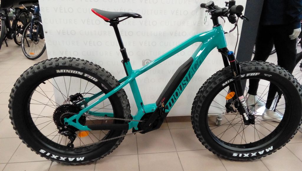 le nouveau v u00e9lo  u00e9lectrique fatbike moustache  so fun
